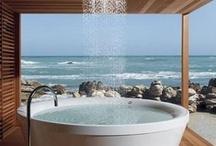 Luxuriate / Bathe in luxury