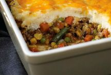 Recipes: Skillet / Main meal in a dish, a skillet or a pan.
