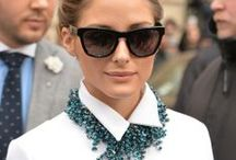 Olivia Palermo / OP truly has fashion instinct.