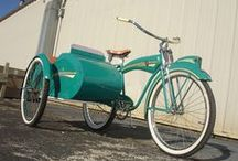 bicycles, pedal cars / by Bob Prestridge