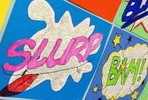 Art & Lichtenstein & Things / by Rasp Berry