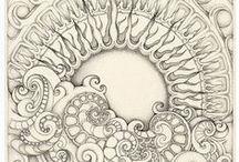 Doodles / Random doodles, zentangles and ink