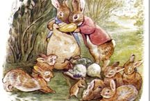Beatrix Potter / I fell in love with Peter Rabbit and that's the beginning..... / by geemarge