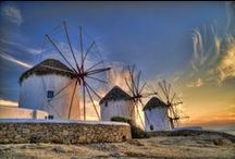 Greek Odyssey / Sun-kissed islands, enchanting ancient ruins and endless sapphire seas...