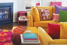 FOR HOME: BOHEMIAN LIVING / Boho home decoration ideas