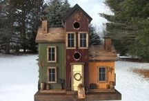 Bird houses / by Gwen's Paper Expressions