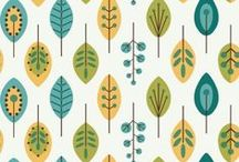 Walls & Floors / wallpaper, flooring, staircases, color palettes…  / by Jean Murdick