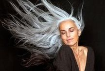 BEAUTY: GREY HAIR / Grey hair is beautiful, chic and very stylish. Find an inspiration for every age.