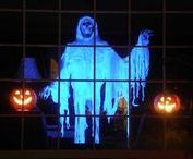 Halloween -- Ghosts / Ultimate spooks, the scariest, the silliest. The ultimate graveyard. Ultimate haunted house facade.