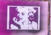 Stencil-Art / Stencil-Art in der K3 Kunstschule