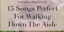 Wedding Playlists / Wedding playlists, love songs, first dance songs, father daughter dance, upbeat wedding songs, songs that will make you cry, country wedding playlist, 80's wedding music, 90's wedding music, songs for engagement party, wedding songs, list of songs for weddings