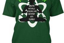meditation and animal T shirt / meditation shirt