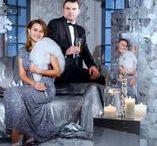 Серебряные платья / Серебряные платья - блистательные и деликатные. В паетках, шитье, кружевах, стеклярусе и бисере.