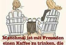 Kaffee oder Tee ❤ / Kaffee oder Tee: Sprüche, Bilder, Rezepte rund um die heißen Getränke. TEETIME KUCHEN GEMÜTLICH www.melusineswelt.de
