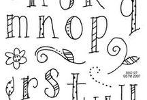 DIY Handlettering ❤ / Der neueste Trend! Handlettering.... schöne Schrift, schöne Buchstaben! Hier pinnt Biggi vom kreativen Bücherblog www.melusineswelt.de. #Handlettering #Schreiben #Schönschrift