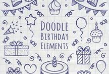 """Sketchnotes ❤ / Malen, Zeichnen, Kreativsein... Mit Zeichungen erklären.... Es macht Spaß und ist individuell! #Idea #icons #doodles Grüße vom kreativen Buchblog """"Melusines Welt"""" - du findest mich auf facebook & Instagram unter @melusineswelt. Mein Blog: www.melusineswelt.de"""