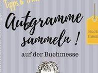 Buchmesse Signierstunde / Wie und wo kann man Autorgramme von Autoren sammeln? Tipps und Ideen! Hier pinnt Biggi vom kreativen Bücherblog www.melusineswelt.de. #Buchmesse #Autogramme #Autor #Signierstunde #Tipps