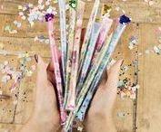DIY Party / Partytime! Ideen rund um Einladung und Dekoration für die nächste Party! Hier sammelt Biggi von www.melusineswelt.de - kreativer Bücherblog!