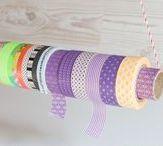 Masking Tape / Washi Tape, Masking Tape - was Kreativeres gibt es kaum! Hier geht es um DIY, IDEEN und Aufbewahrung. www.melusineswelt.de