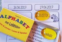 Lesen lernen / Leseanfänger und Tipps zum Lesen lernen  www.melusineswelt.de