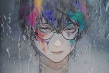 Tokyo Ghoul / Don't trust anyone too much, remember the devil was once an angel. -Ken Kaneki   Why should I apologize for being a monster? Has anyone ever apologized for turning me into one? -Juuzou Suzuya   You think something like that would hurt, after all I've been through? -Ken Kaneki