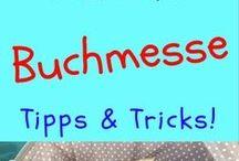 Buch Messe Tipps & Tricks / Hier werden Tipps & Tricks für den Besuch der Buchmesse gesammelt  - für deine Planung! Hier pinnt Biggi vom kreativen Bücherblog www.melusineswelt.de #buchmesse #tippsundtricks #buchmessefrankfurt #buchmesseleipzig #lbm #fbm #llc