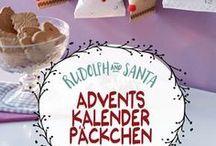 Adventskalender / Ideen für den Adventskalender - gesammelt von Biggi vom kreativen Buchblog www.melusineswelt.de. #diy #Adventskalender #basteln #ideen #Weihnachten