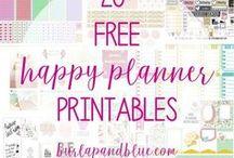 DIY Kalender Happy Planner / Kalender gehen immer! Es geht um den #happyplanner ! Hier pinnt Biggi vom kreativen Bücherblog www.melusineswelt.de #Planner #Kalender #Blogplaner