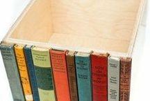 DIY alte Bücher / Was kannst du alles mit alten Büchern machen? Hier pinnt Biggi vom kreativen Bücherblog www.melusineswelt.de. #DIY #Buch #Bücher #alt #recyceln