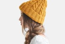 hat inspo / knitting, knitting patterns, knitting tips, knitting inspiration, fiber, fiber arts, textile arts, fiber, wool, yarn, wool yarn, hand dyed yarn, hats, knit hats, winter hats, crochet hats