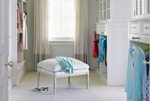 Closets / shouldn't your stylish clothes be in a stylish space?