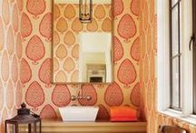 Wallcoverings / just a small taste of why you should love wallpaper