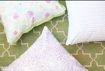Traci Zeller Home / I love to create!  The board shares my pillows, textiles and other products. For purchase information, please email info@tracizeller.com. / by Traci Zeller