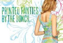 Hanky Panky ♥ Lilly Pulitzer / An Exclusive Limited-Edition Collaboration Launching November 28, 2014 / by Hanky Panky Ltd.