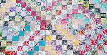 Trip Around the World Quilt / Quilts made using the beautiful Trip Around the World pattern
