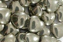 Gemstone Heart Pendant Beads and Cross Beads for Jewelry Making / Gemstone Heart Pendant Beads and Cross Beads for Jewelry Making