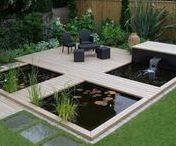 #Fontaines et Bassins / Vous voulez un jardin calme et harmonieux ? Le bruit de l'eau qui coule vous relaxe ? Venez découvrir les bassins et fontaines qui inspirent nos paysagistes.