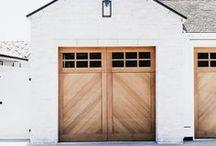 Garage Ideas / Garage Organization| Garage Ideas | Garage Storage | Garage Door Ideas| Garage Door Colors | Garage Door Makeover | Garage Door Ideas | Garage Door Hardware