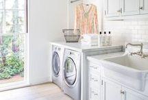 Laundry Room Ideas / Laundry Room | Command Centers | Laundry Room Decor