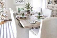 Dining Room Ideas / Dining Rooms | Eat In Kitchens | Breakfast Area | Tablescapes| Dining Room Design| Dining Room Ideas| Breakfast Nook Ideas|