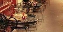 flower shop & coffee shop... crepperie & bookstore