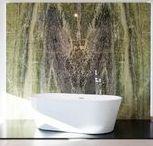 Naturstein und Bäder / Moderne #Badgestaltung mit #Naturstein unterstützt von #Bäderbauern