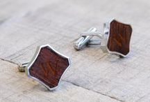 Creative Cufflinks / So you want to wear a pair of unique (possibly wacky) cufflnks on your wedding day? We've got you covered with these creative options inspired by video games, sports, comic books, hobbies and much more!