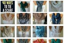 ❦ ❦ fatwoman & anils scarf's