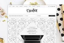 Pretty Darn Cute Design / Feminine WordPress Themes, web design, graphic design, free downloads, blogging tips and more. / by Pretty Darn Cute Design