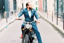 Groom Style / Look your best on the wedding day with these style ideas and inspiration ranging from suits, tuxes and ties to wedding bands and hair styles.