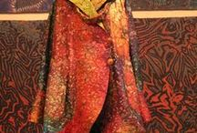 clothes i want to own / by paintedthreads... fabric art by tonya dyce