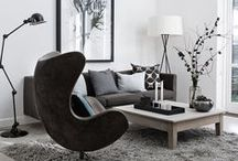 TKD: LIVING SPACES / All interior spaces - living room, dining room, den... www.trishknight.com