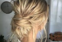 Wedding updos / There's so much to love about perfectly formed wavy hair, a smooth and sleek classic bridal bun or perhaps a messy side chignon.