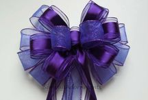 RIBBON..BUTTON & BOWS / Ribbons ---Bows and Buttons / by Sharon Eide
